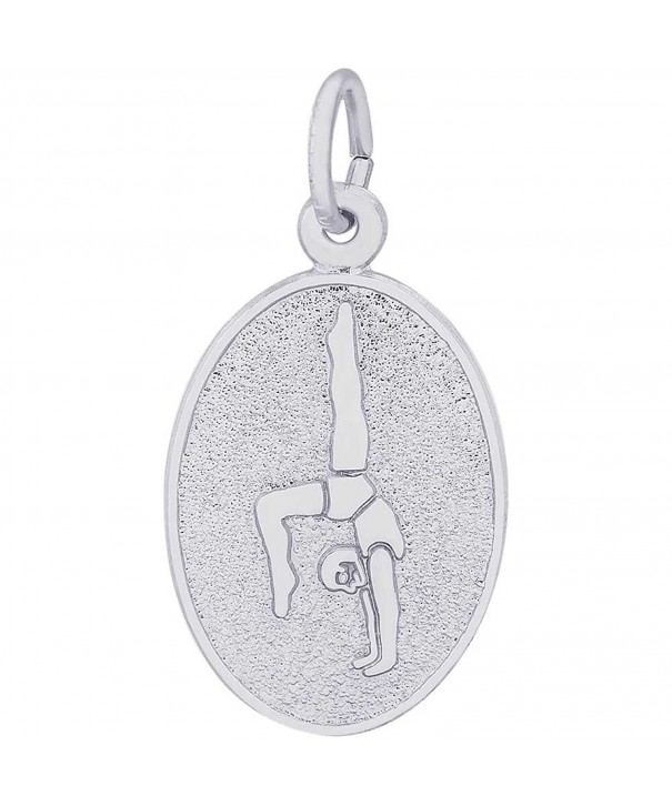 Rembrandt Charms Gymnast Sterling Silver