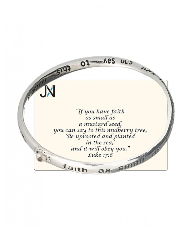 Seed Faith Inspirational Bangle mustard