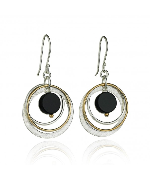 Circle Earring Sterling Silver Earrings