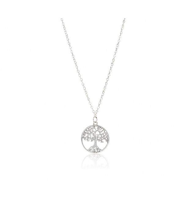 Pendant Necklace Sterling Silver Chain