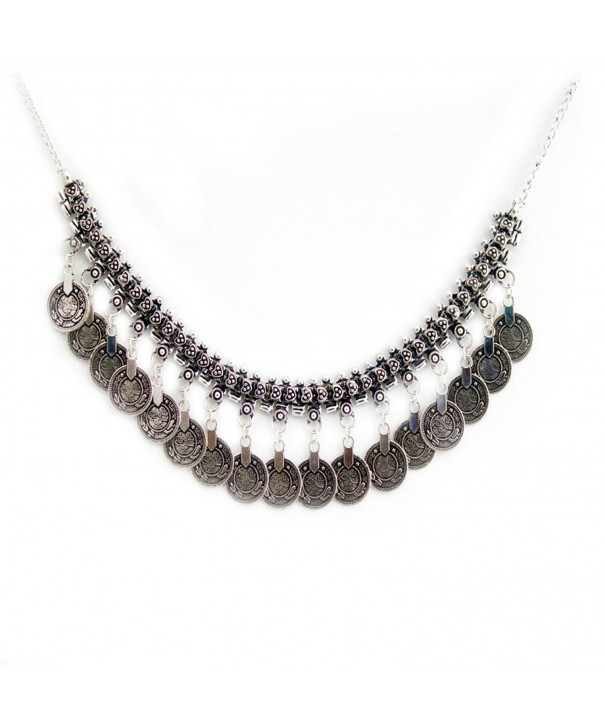 Banjara Oxidized Necklace Tribal Bohemian