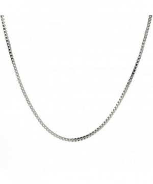 Sterling Silver Chain Necklace 0 7mm
