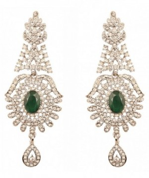 Touchstone Hollywood Glamour crystals earrings