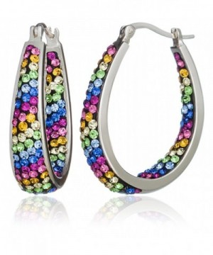 Carly Creations Crystal Rainbow Earring