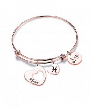 Maofaed Zodiac Constellation bracelet Pisces Rose