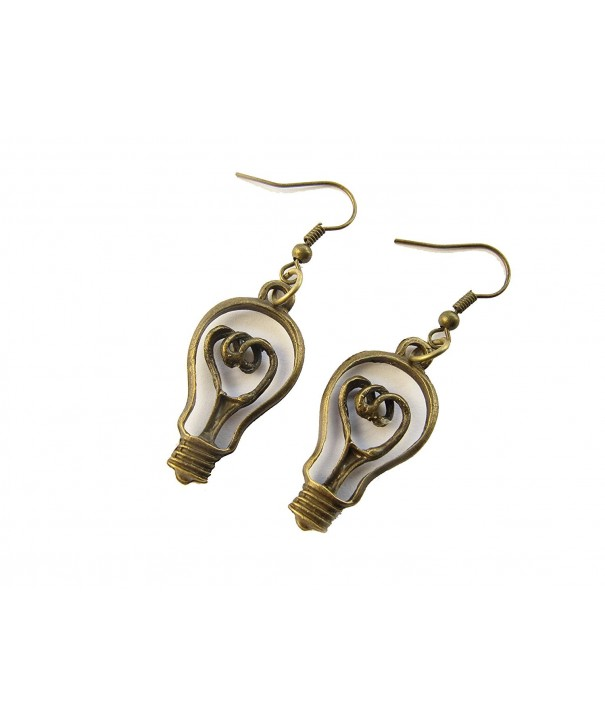 Lightbulb Earrings Teachers Science Jewelry