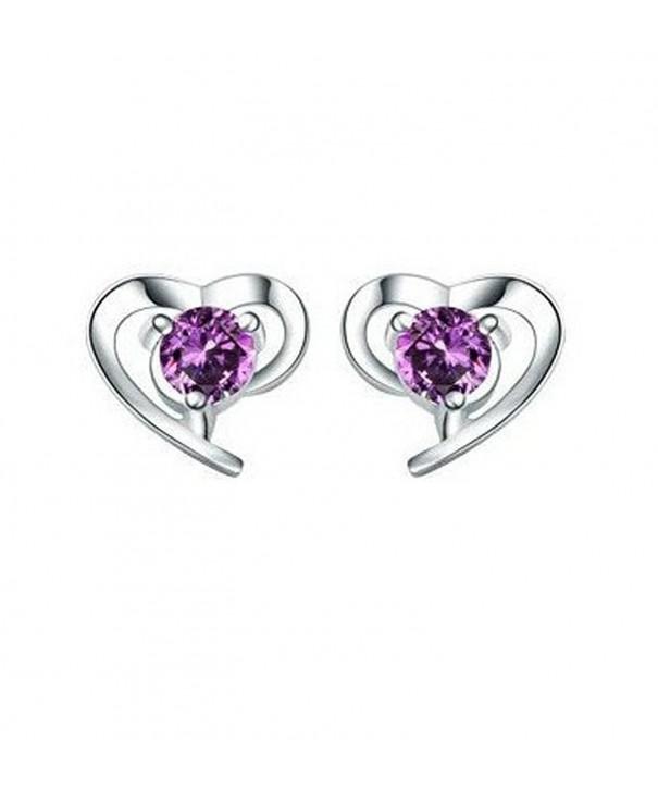 BEYLEG Sterling Heart shaped Earrings BE 45