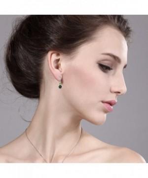 Mystic Peridot Sterling Silver Earrings