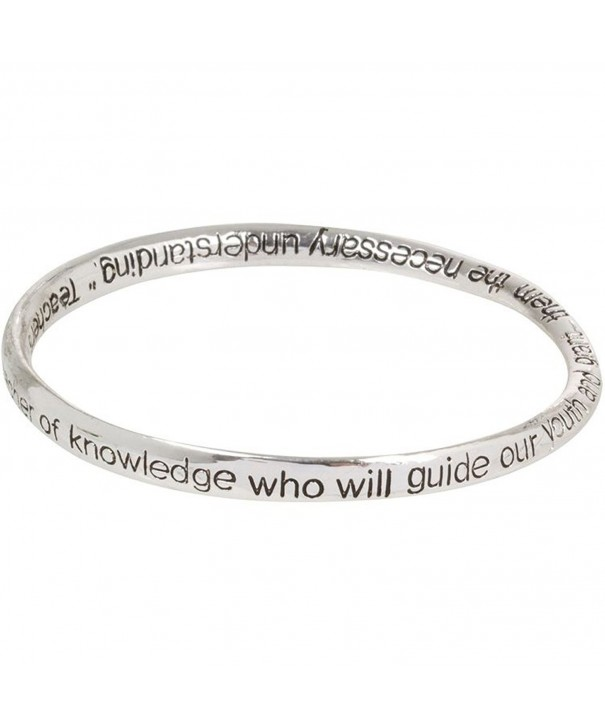 Heirloom Finds Teacher Prayer Bracelet
