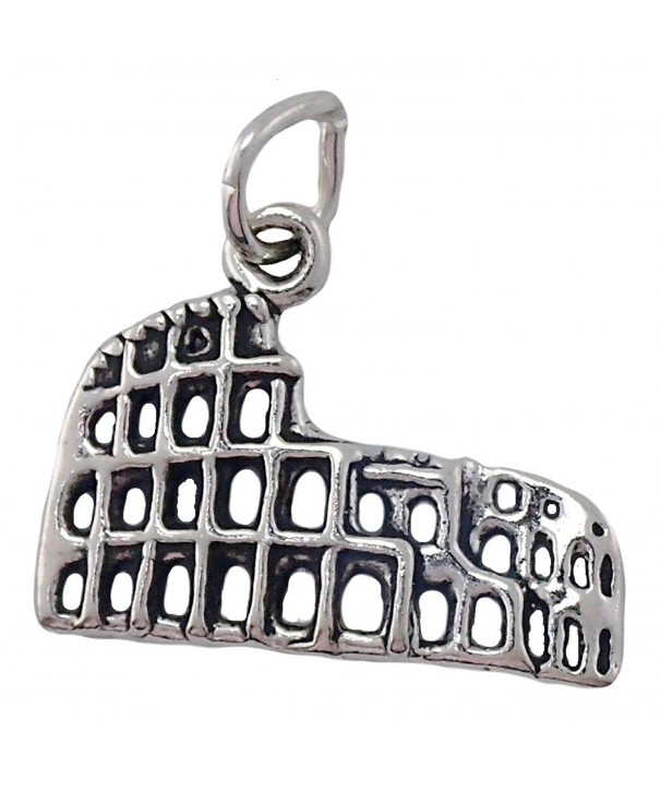 Sterling Silver Roman Colosseum Charm