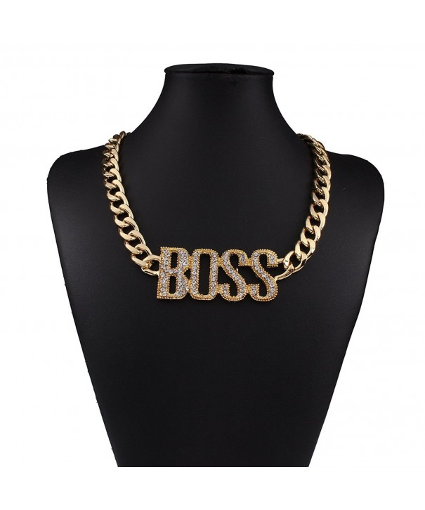Explosion models exaggeration fashion necklace