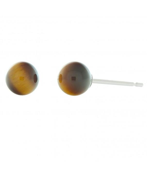 Trustmark Sterling Silver Natural Earrings