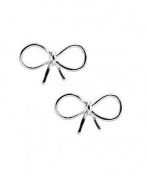 Spinningdaisy Handmade Gloss Earrings Silver