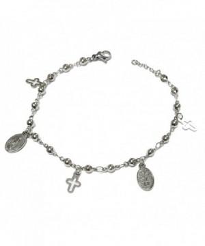 Catholic Rosary Bracelet Charms Miraculous
